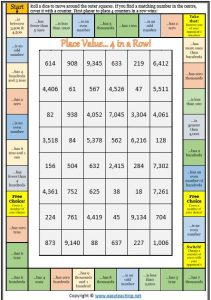 graphic relating to Place Value Strips Printable named Selection and Destination Worth Worksheets