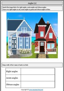 angle find worksheet