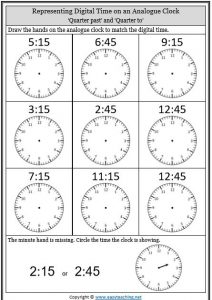telling time worksheets o 39 clock half past quarter to. Black Bedroom Furniture Sets. Home Design Ideas