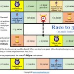 elapsed time game race maths time games