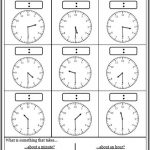 Telling Time Worksheets • O\'clock Half Past Quarter to ...