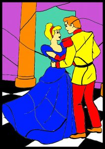 colour by number worksheet dancing