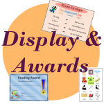displays awards certificates