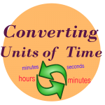 converting units of time teaching time