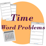 time word problems teaching time