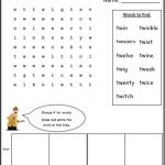 blends digraphs wordsearch blends worksheets