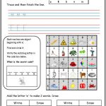 letter sound alphabet worksheets
