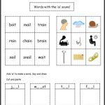 long vowel cut paste long vowel sounds worksheets