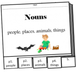 nouns flipbook parts of speech