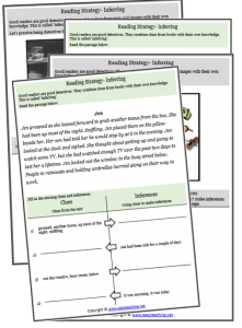 inferring worksheets