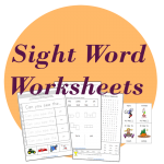 sight word worksheets resources