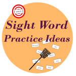 sight words practice ideas