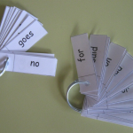 sight words ideas keyring