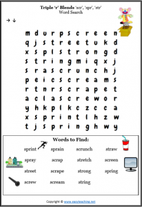 year 2 spelling word search find a word