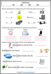 year 2 spelling worksheet