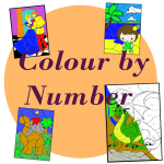 colour by number multiplication division