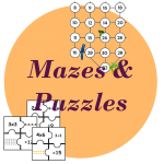 times tables puzzles mazes