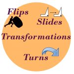 transformation worksheets flips slides turns