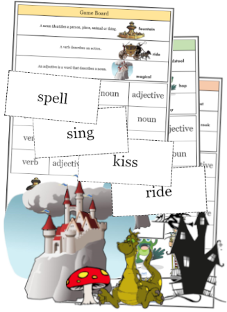 Printable English and Maths Games