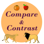 compare contrast reading strategy worksheets