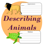 describing animals worksheets