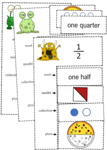 fractions puzzle match representations pdf
