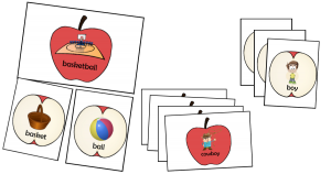 compound words sort match activity apples rotation literacy centers centres