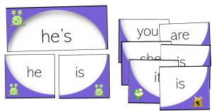 contractions literacy rotations centers centres