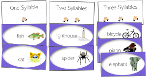 syllable sort literacy centers activities rotations syllables pdf
