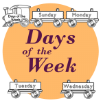 days of the week worksheets resources kids