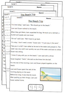year 2 reading comprehension worksheets passages pdf