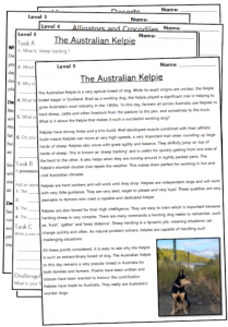 year 5 reading comprehension worksheets passages pdf