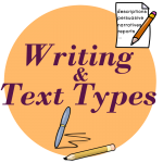 writing worksheets text types poetry narratives reports persuasive