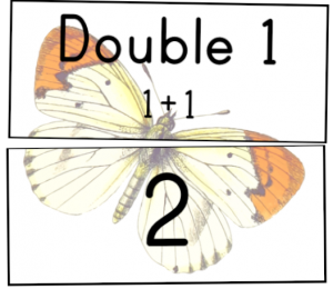maths centre activities rotation doubles facts cards match pdf