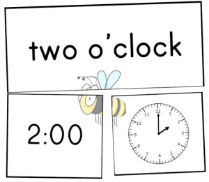maths centre activities rotation time oclock match puzzle pdf
