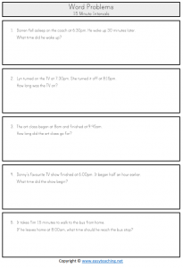 elapsed time word problems 30 minutes year 2 3 ks1